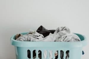 Basket of dirty clothes