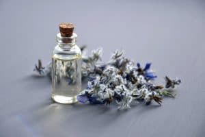 Bottle of tea tree oil
