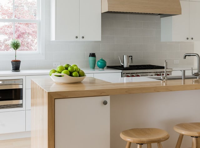 Our customer's clean kitchen in Perth