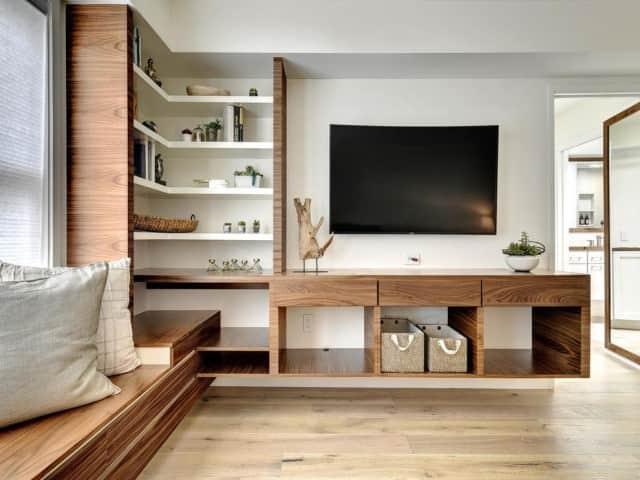 Our Hobart customer's modern living room