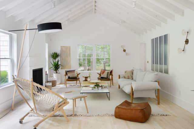 A modern and clean lounge in Brisbane