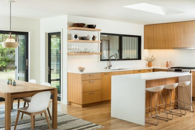 Our end of lease customer's kitchen in Canberra