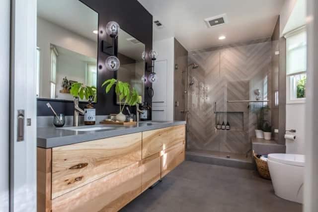 One of our Gold Coast customer's modern bathroom