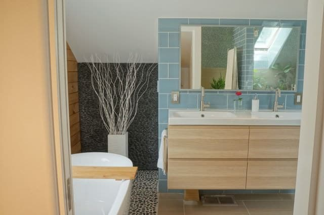Bathroom after a deep clean in Canberra