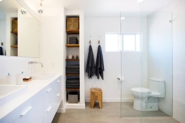 One of our regular customer's bathroom in Gold Coast