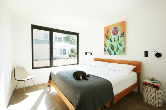 A clean bedroom in Brisbane
