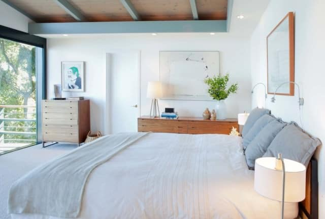 A Gold Coast bedroom after a spring clean